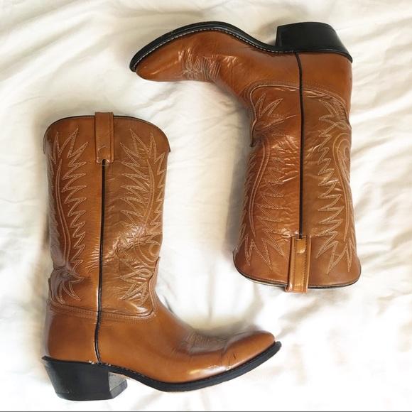 196c61d7505 Vintage Acme Men's Western Cowboy Boots 9